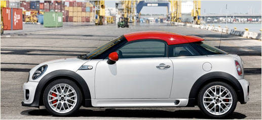 Mini Coupé, el primer coche biplaza de la gama