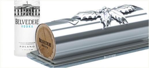 Buche de Belvedere Vodka, pack regalo en edición limitada