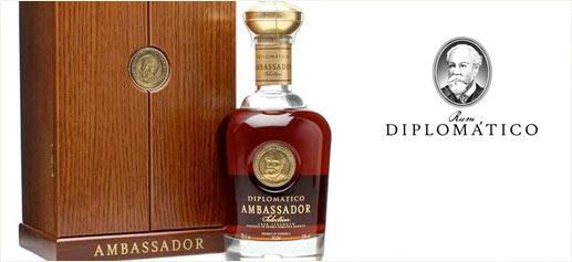 Diplomático presenta su ron Ambassador