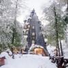 Montaña Mágica Lodge, un hotel insólito con forma de montaña