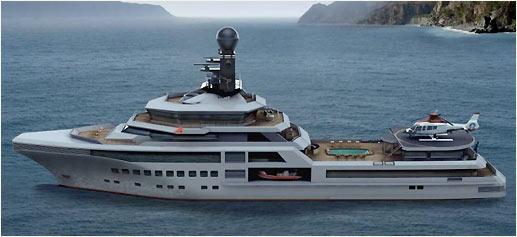 PJ World, el nuevo yate de Palmer Johnson Boats & Rolls Royce