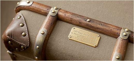 Richard's Trunk Collection, una línea de muebles antiguos