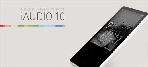 iAudio 10 de Cowon, un MP3 universal