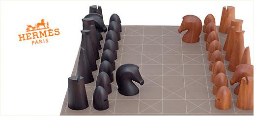 Juego de ajedrez by Hermès