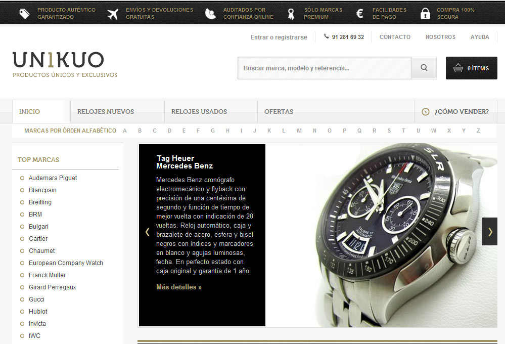 Venta de relojes online tattoo design bild for Similar a privalia