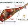 5 sabores del jamón MONSALUD