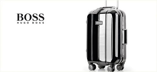 Hugo Boss presenta su nueva gama de maletas