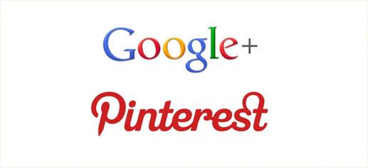 Lujo y estilo de vida en Google+ y Pinterest