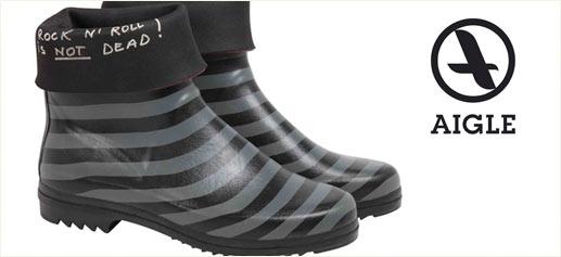 Las nuevas botas de agua de Aigle