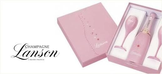 Lanson se viste de rosa para el día de San Valentín