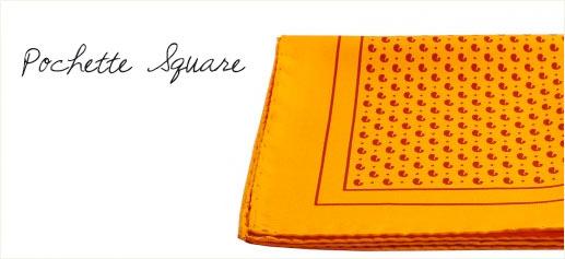 Pochette Square, el pañuelo de bolsillo de lujo