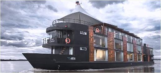 Crucero por el Amazonas a bordo del M/V Aria