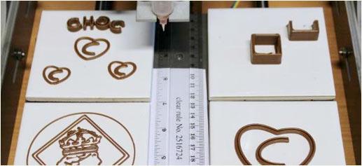La primera impresora de chocolate en 3D, por Chock Edge Limited Company