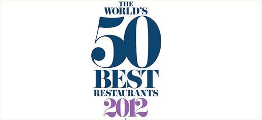 Premios San Pellegrino 2012. Los 50 mejores restaurantes del mundo