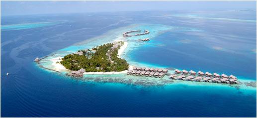 Coco Palm Bodu Hithi, el mejor hotel romántico de lujo de 2011