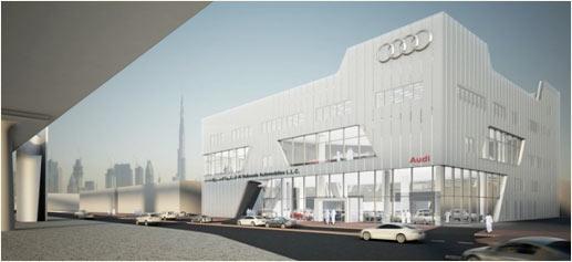Terminal Audi en Dubai: el concesionario más grande del mundo