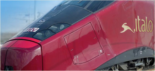 Tren Italo, exclusividad Ferrari a 360 km/h