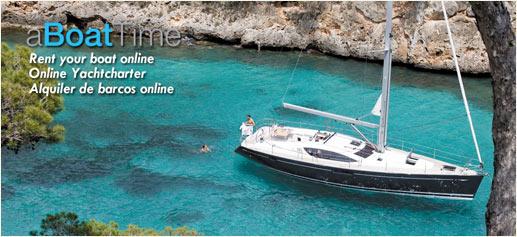 aBoatTime, alquiler de barcos online