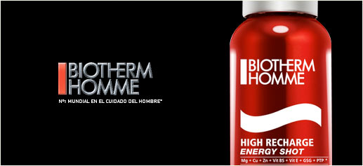 Biotherm lanza el High Recharge Energy Shot