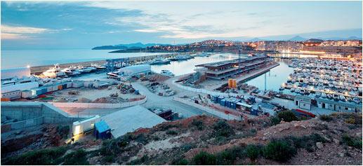 Port Adriano: puerto Starck
