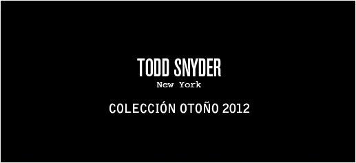 Todd Snyder, la nueva colección para el próximo otoño 2012