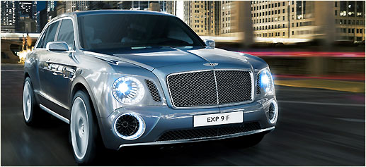 Bentley EXP 9 F, un SUV concept de auténtico lujo