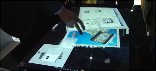 Samsung SUR40 LCD Led Mesa Táctil