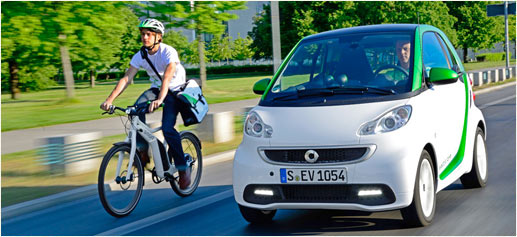 Smart Fortwo Electric Drive y Smart Electric Bike