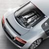 Audi R8: Motor central V8 o V10 con quattro