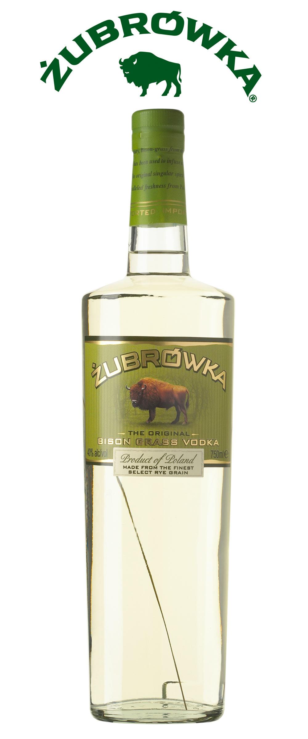 Zubrówka, el vodka del bisonte