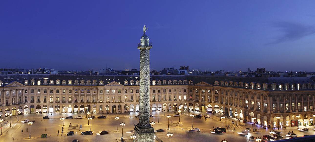 Place Vendôme, epicentro del lujo parisino