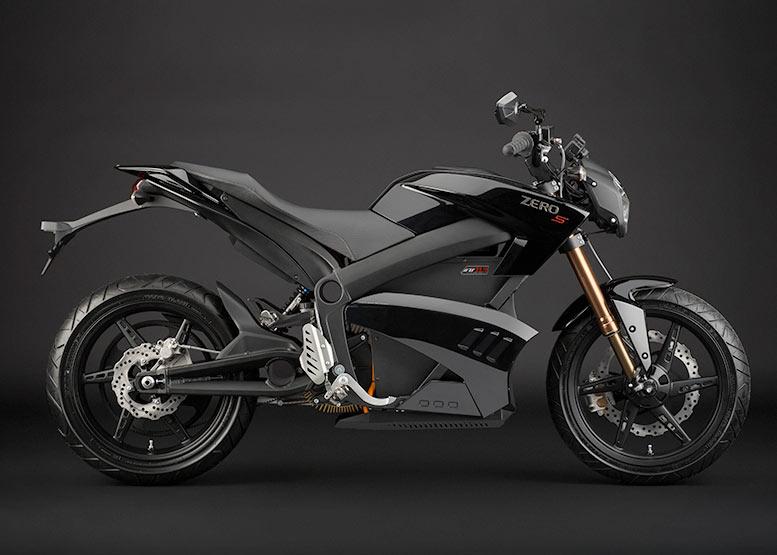 Motocicleta eléctrica Zero S
