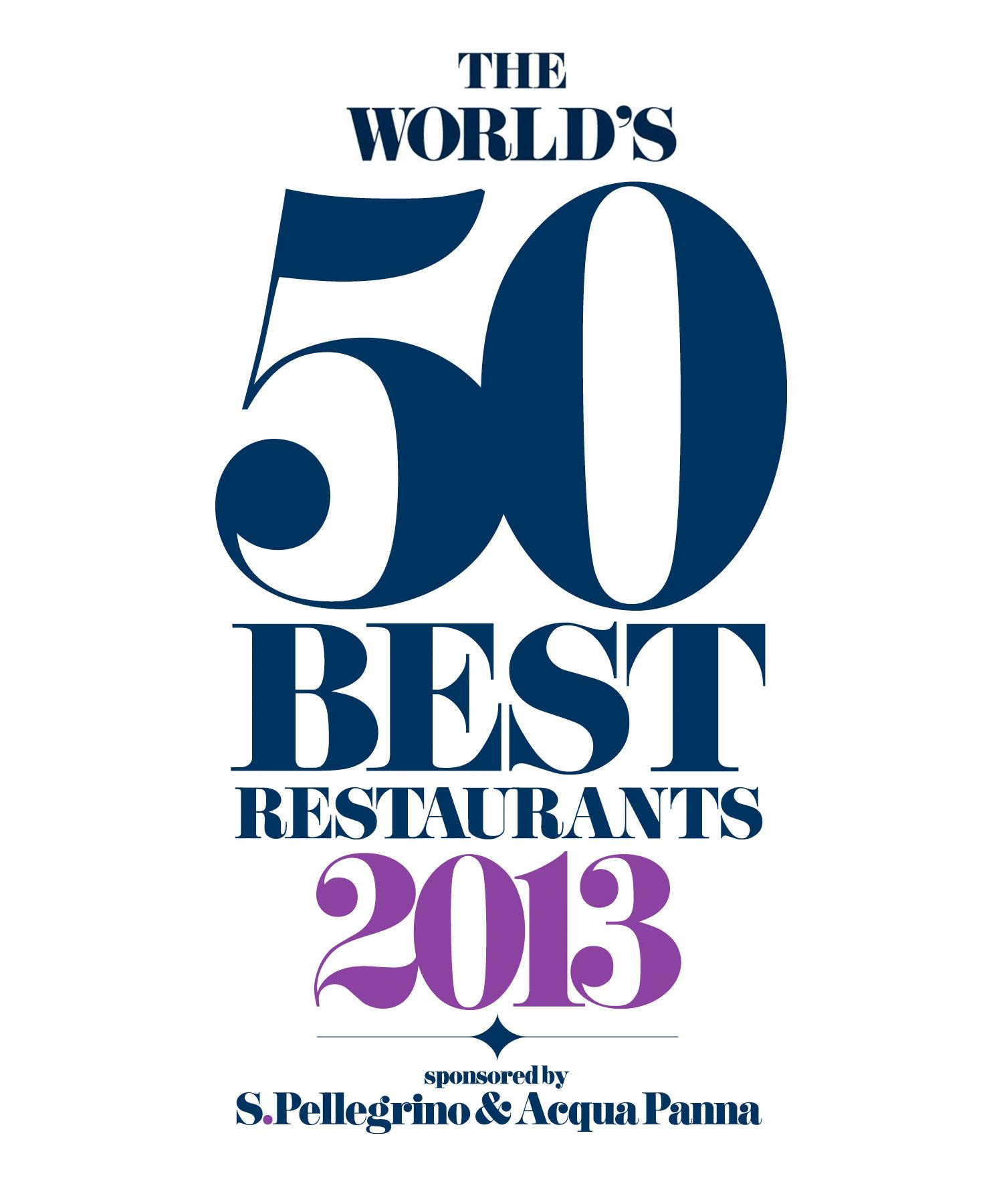 Los 50 mejores restaurantes del mundo. Premios San Pellegrino 2013
