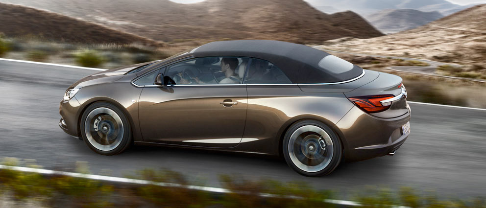 Nuevo Opel Cabrio, para disfrutar de las vistas