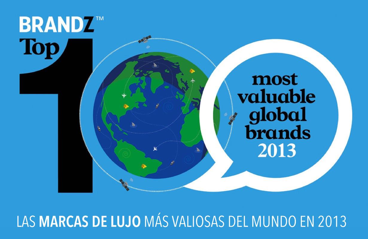 Las marcas de lujo más valiosas del mundo 2013