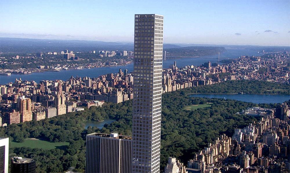 432 Park Avenue, el rascacielos de lujo residencial más alto de Nueva York