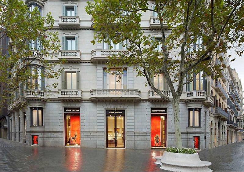 Louis Vuitton abre nueva tienda en Barcelona