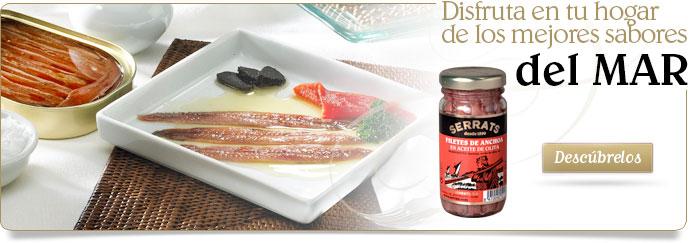 """""""Conservas Serrats"""", desde 1890 La calidad y el sabor en la red"""