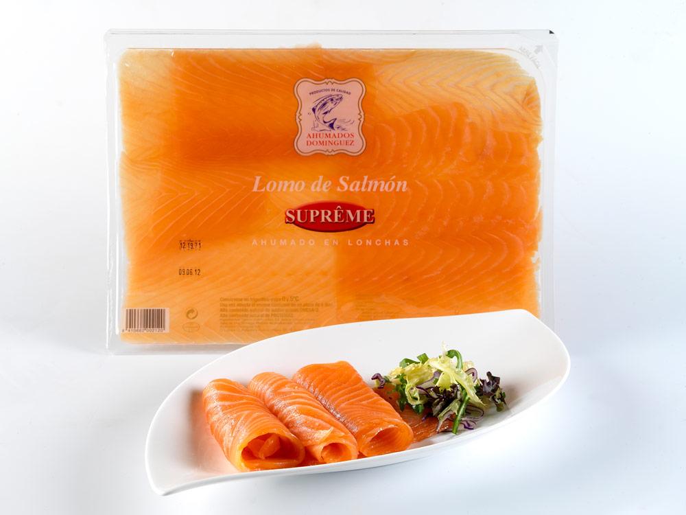 salmón ahumado Supréme