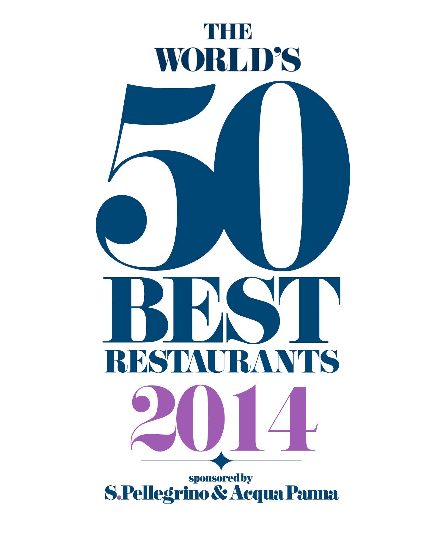 Los 50 mejores restaurantes del mundo. Premios San Pellegrino 2014