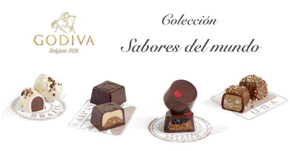 """Godiva, nueva colección de bombones """"Sabores del mundo"""""""